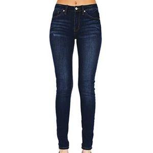 KanCan Holly Dillon Dark Blue Skinny Jeans